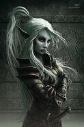 Sahav Q'vor (by Dark Elf Reaper on gaiaonline.com)