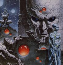 Discordanten 2 (The Temple of the Night by Philippe Caza)