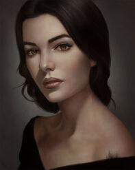 Varilea Artice (Female Portrait Study 11 Day -102 by AngelGanev on DeviantArt)