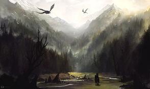 Misty Mountains by Ninjatic on DeviantArt
