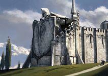 Blauwhaviks Muur (The Temple of the Lightbringers by Joon Ahn on Arstation)