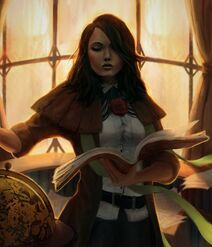 Marcia Telmore Solari (Strike of knowledge by twopercentart on DeviantArt)
