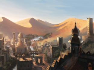 Rhynn on DeviantArt - City in the Desert