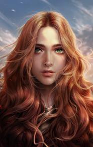 Isabelle Mevalan (Lhii by SanMandara on DeviantArt)