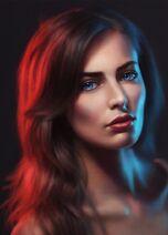 Thame Elvarne 2 (Female Portrait Study 20 day 111 by AngelGanev on DeviantArt)