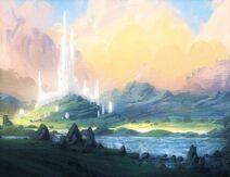 Elyss 2 (Procreate Elven Castle by ChrisDrake1987)