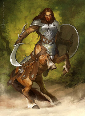Crach (Centaur warrior by CG-Warrior on DeviantArt