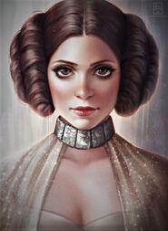 Alphis Mendragone (Princess Leia by serafleur on DeviantArt)-0