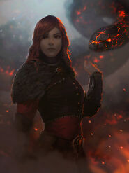 Gabrielle Mossi (flame by dr-grizscald on DeviantArt)
