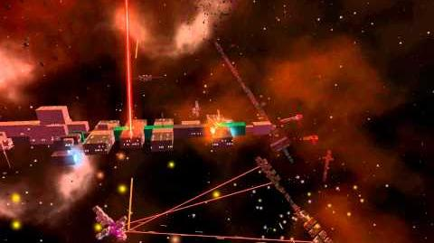 Avorion Dev Footage Big Space Battle