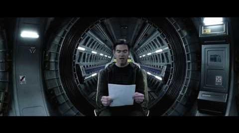 Alien- Covenant - Crew Message- Oram - Official HD Clip 2017