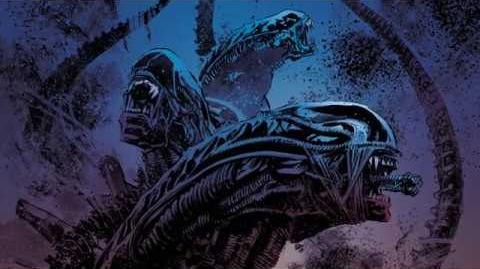 Dark Horse Comics' ''Aliens- Dust to Dust'' trailer.
