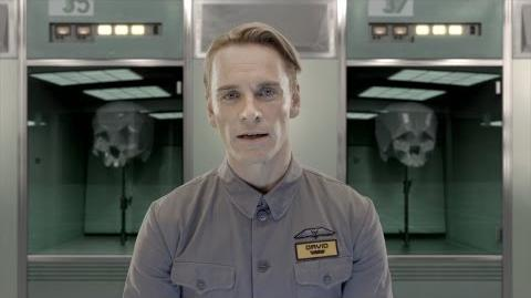 Introducing the David 8 - The Next Generation Weyland Robot