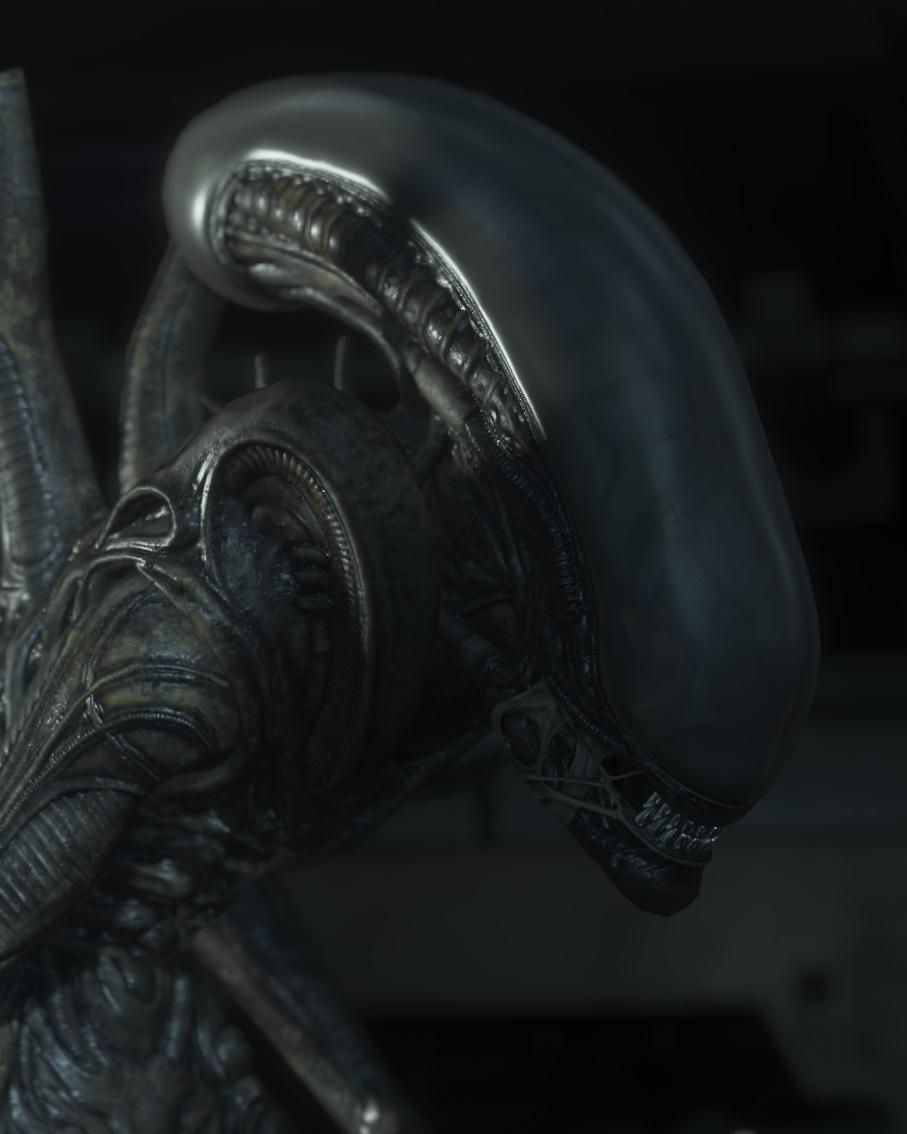 Xenomorph Alien Isolation Model