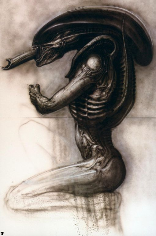 Sexual predator alien hybrid