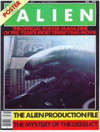 Alien Official Poster Mag II