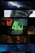 Alien 40 shorts poster