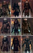 Lost Predators names
