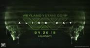 Alien Day 2018 MP Slider