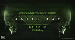Alien Day 2018 MP Slider