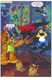 Simpsons alien