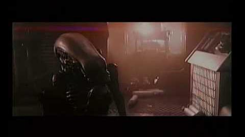Alien deleted scene Alien attacks Lambert - good quality