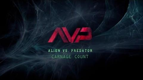Alien vs Predator (2004) Carnage Count