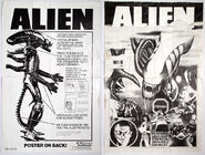 Kenner 18 Alien instructions