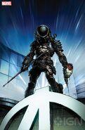 Marvel Predator Cover by David Finch