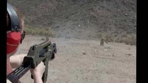 MAX-41A Shooting 9mm Tracer and 12 Ga
