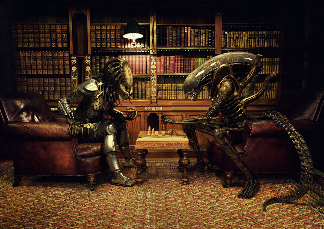 Alien Vs Predator Chess by Xidon