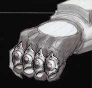 Power Punch glove concept art
