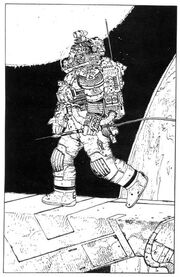 Space Suit by Moebius