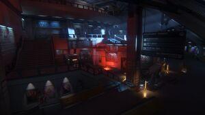 Spaceflight terminal