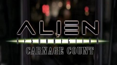 Alien Resurrection (1997) Carnage Count