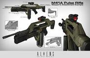 Pulse Rifle MK2 concept