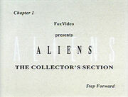 Aliens SCE LD collector's section
