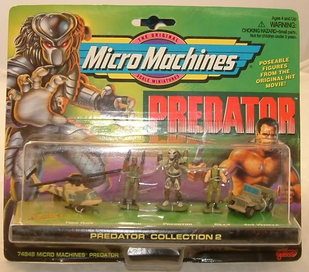 Predator Micro Machines Xenopedia Fandom Powered By