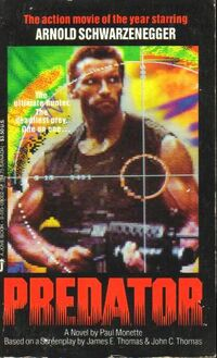 Predator novel 1987