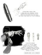 AvPR concept art (dissolving gel & dissolving grenades)