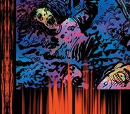Thermal vision judge dredd comic
