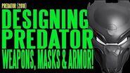 PREDATOR 2018 Weapons Masks Armor ADI