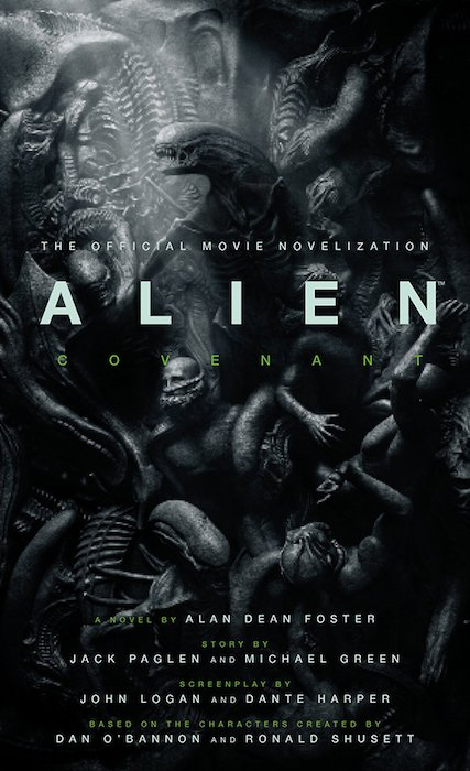 Image result for alien covenant the movie novelisation