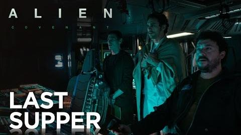 Alien Covenant Prologue Last Supper 20th Century FOX