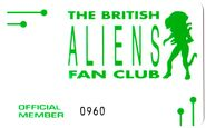 Fan Club Membership Card