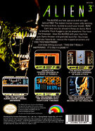 Nes alien3 back.casejpg