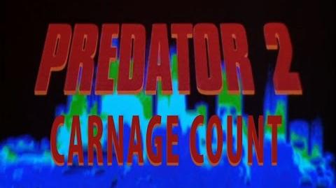 Predator 2 (1990) Carnage Count