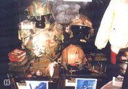 Marine gear in Alien War museum