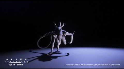 Alien- Isolation Alien Animations