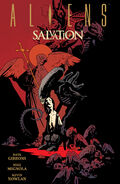 Aliens salvation hardcover